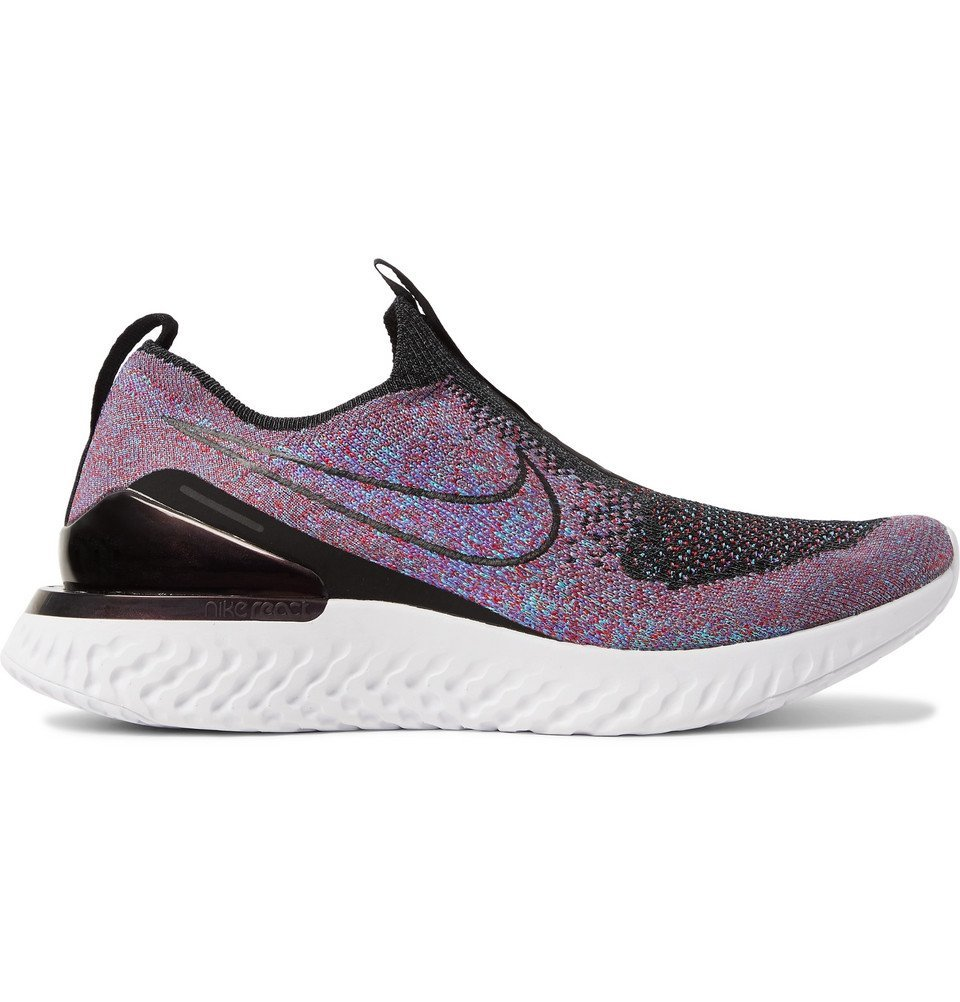 Nike Running - Epic Phantom React Flyknit Sneakers - Purple