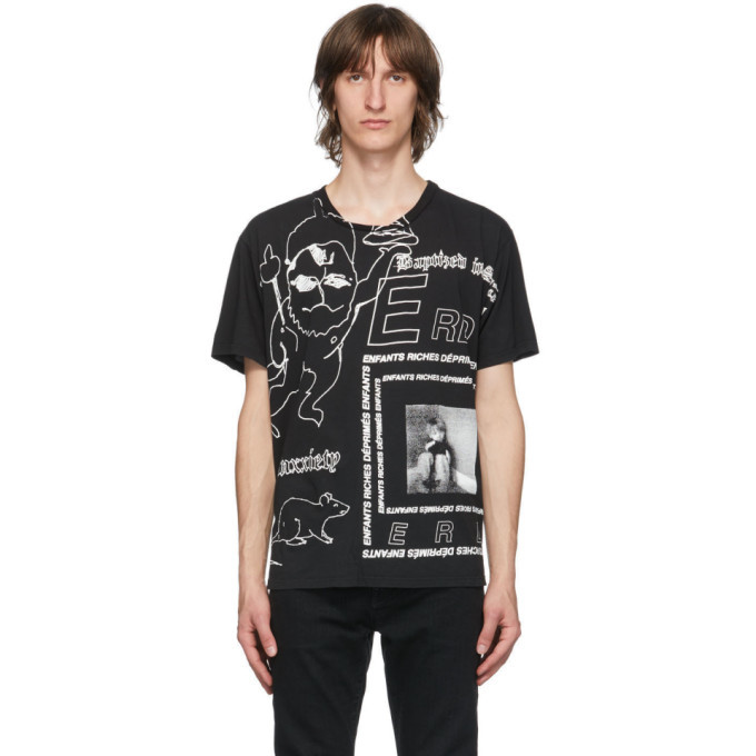 Photo: Enfants Riches Deprimes Black Hanuman T-Shirt
