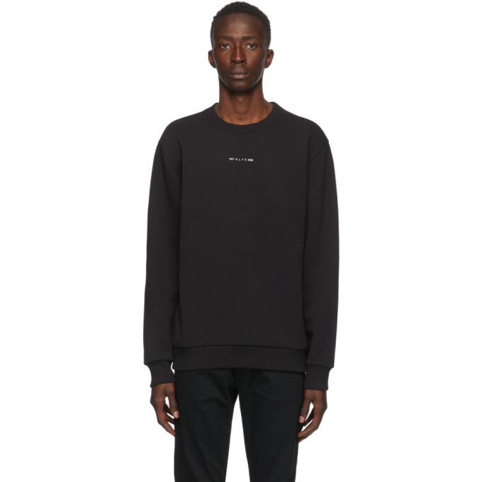 Photo: 1017 ALYX 9SM Black Visual Logo Sweatshirt