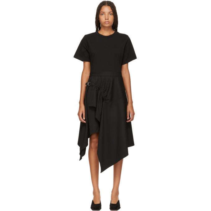 3.1 Phillip Lim Black Handkerchief Dress