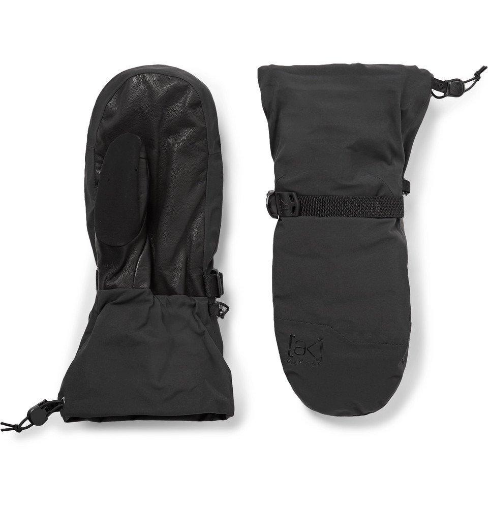 Photo: Burton - [ak] Hover GORE-TEX 3L and Leather Ski Gloves - Black
