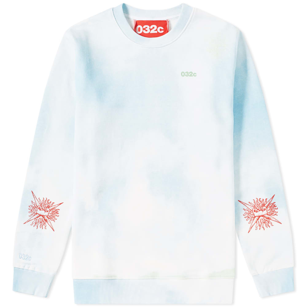 Photo: 032c Cloud Print Crew Sweat