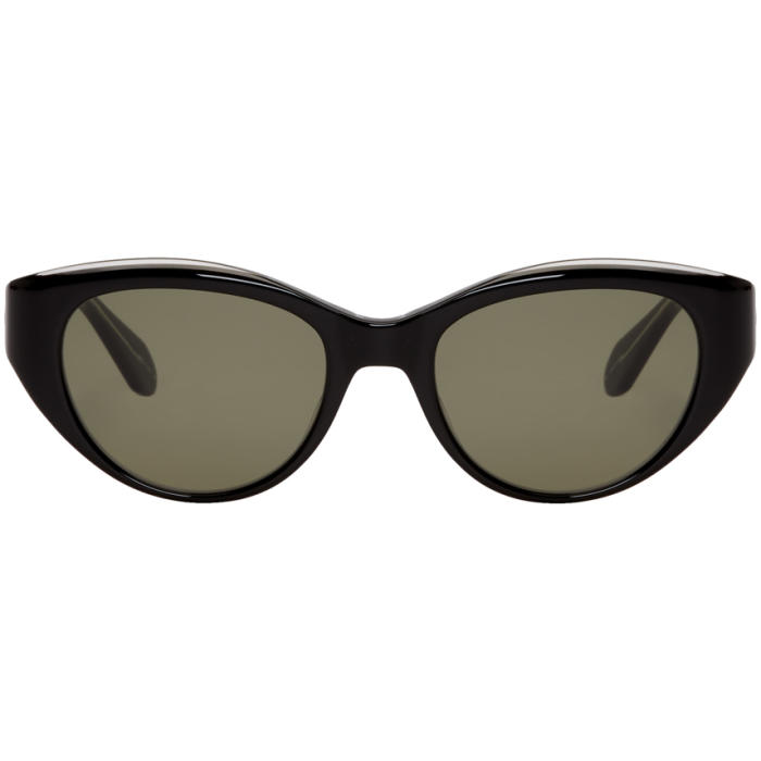Photo: Garrett Leight Black Del Rey Sunglasses
