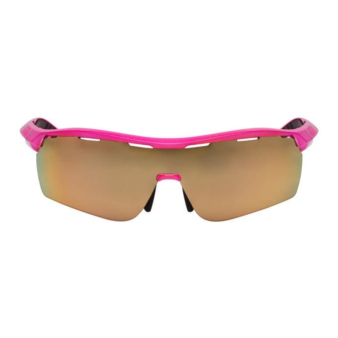 Photo: Stella McCartney Pink Runway Shield Sunglasses