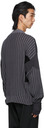 GmbH Black & Grey Knit Mies Sweaters