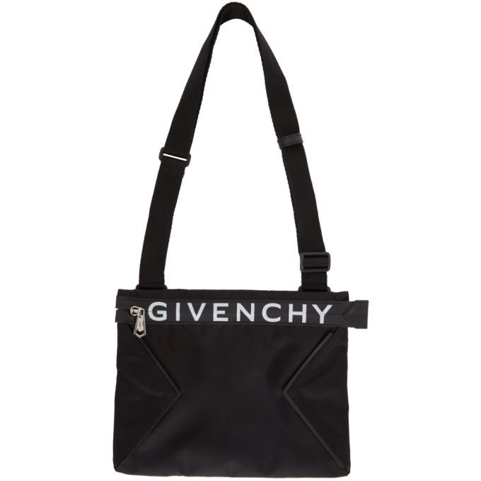Photo: Givenchy Black Spectre Messenger Bag