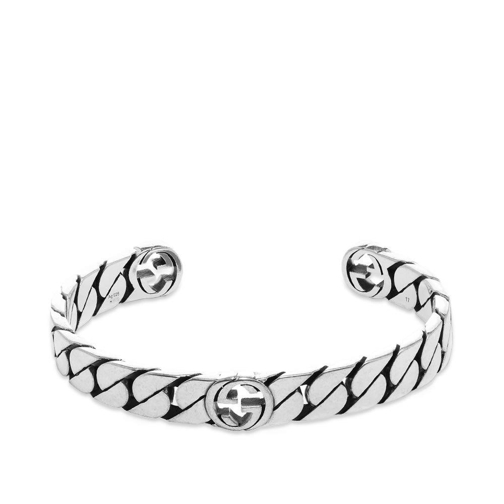Photo: Gucci Interlocking G Rigid Bracelet