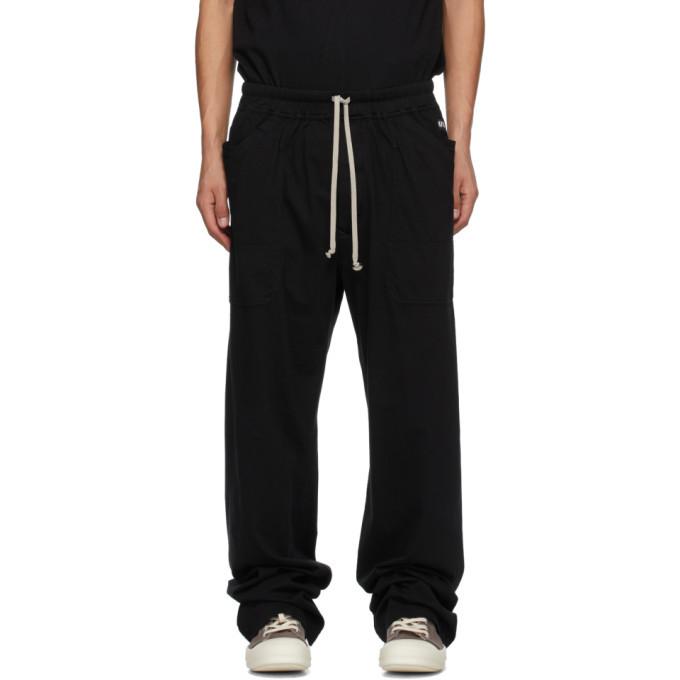 Photo: Rick Owens Drkshdw SSENSE Exclusive Black MT Lounge Pants