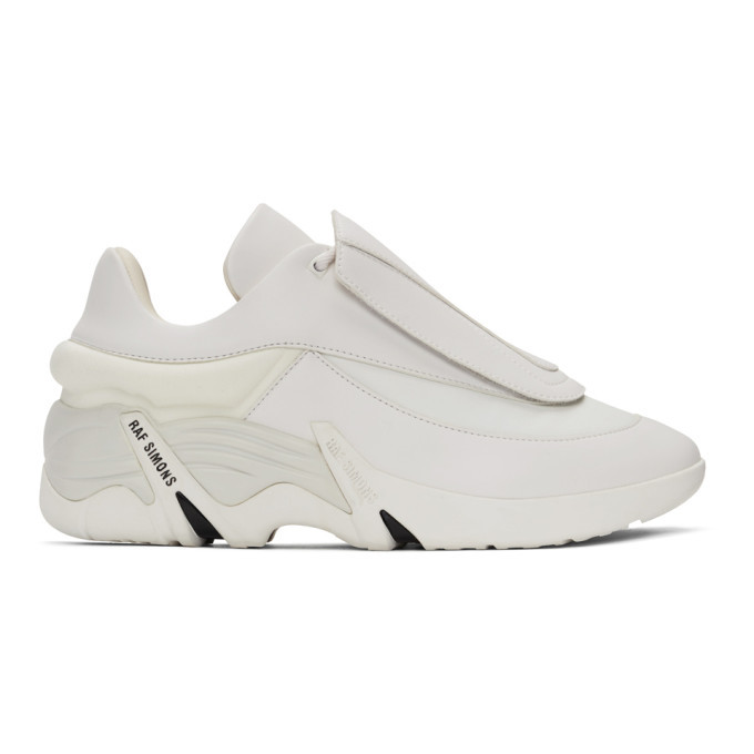 Photo: Raf Simons White Antei Sneakers