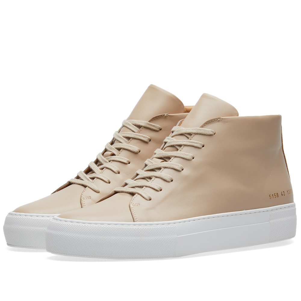 Photo: Common Projects Court Mid Neutrals