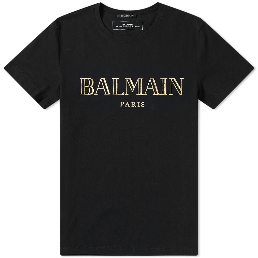 Photo: Balmain Text Logo Tee