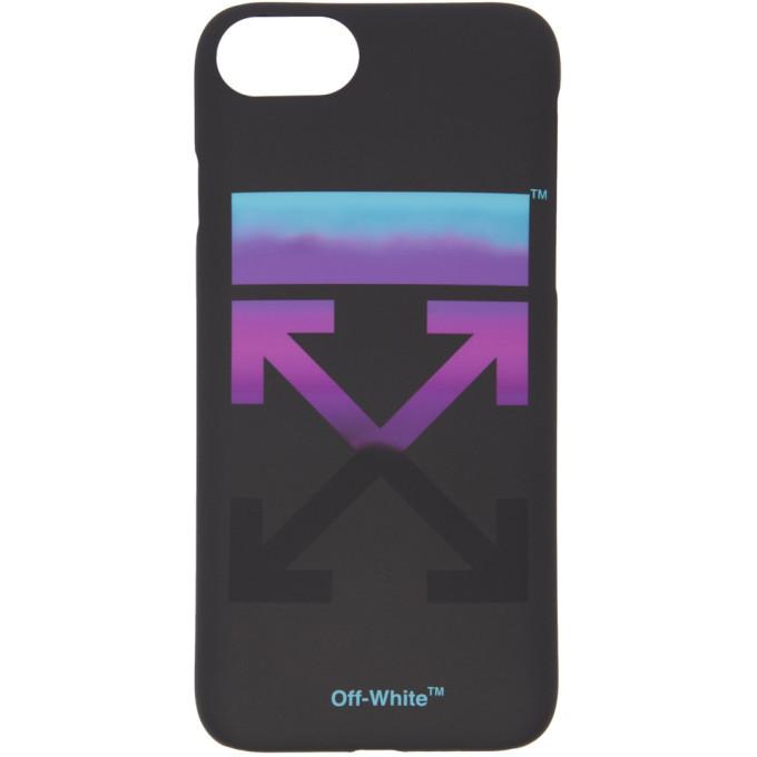 Off-White Black Gradient iPhone 8 Case