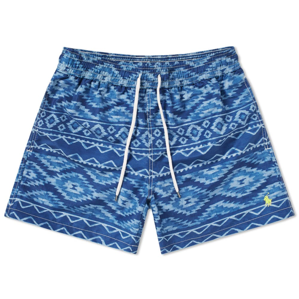 Photo: Polo Ralph Lauren Indigo Blanket Traveller Swim Short