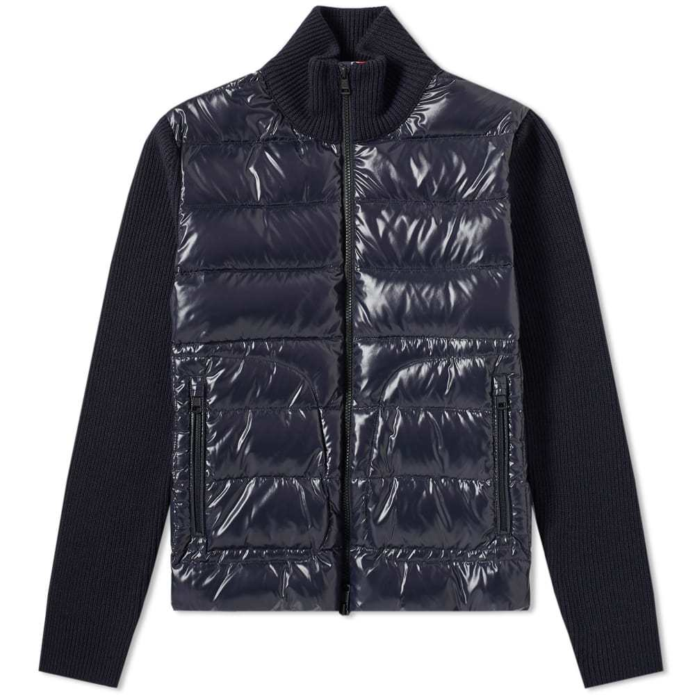 Photo: Moncler Maglione Down Zip Jacket