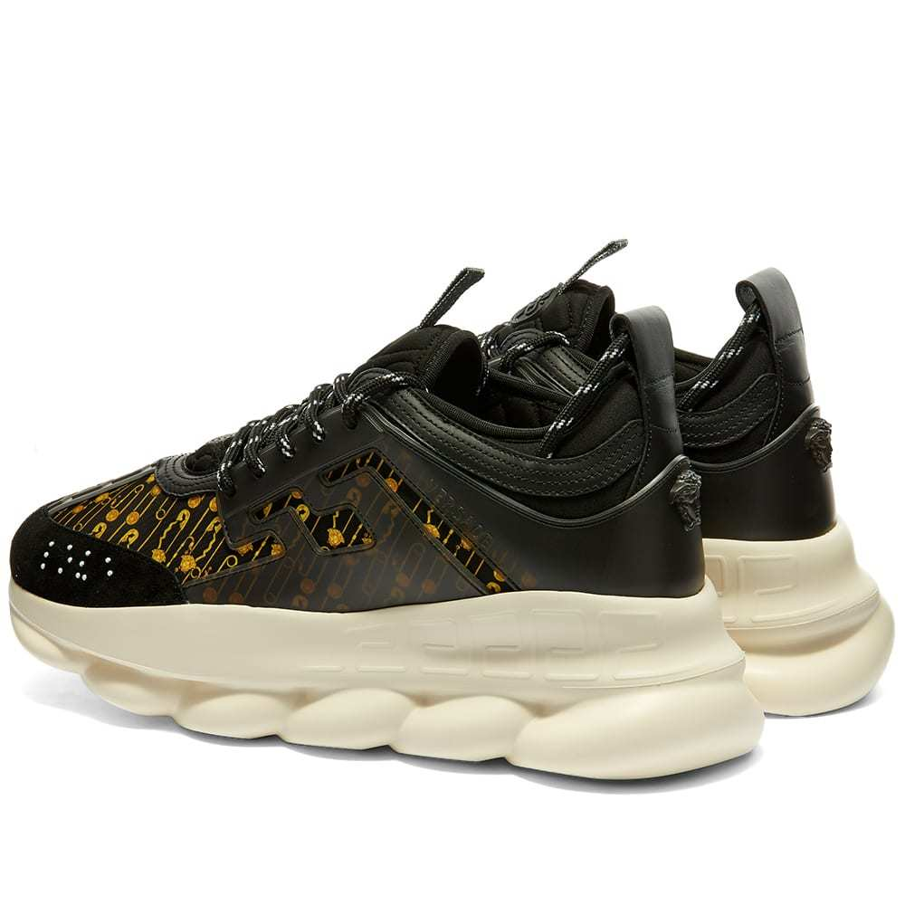 Versace Safety Pin Chain Reaction Sneaker