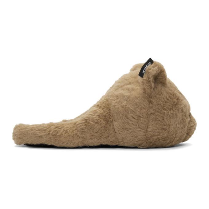 Photo: VETEMENTS Beige Bear Slippers