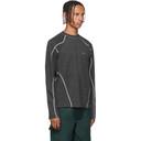 GmbH Grey Asia Mono Crewneck Sweater