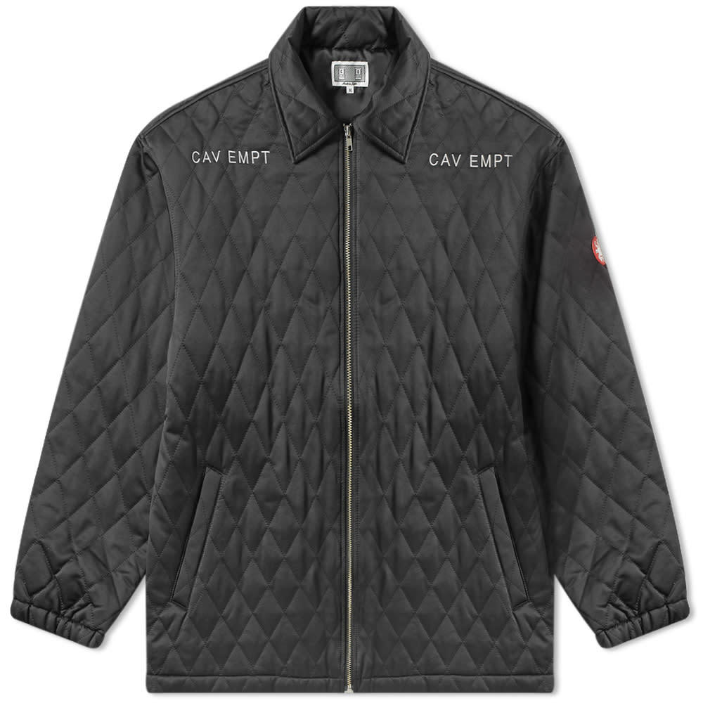 Photo: Cav Empt Quilt Zip Jacket