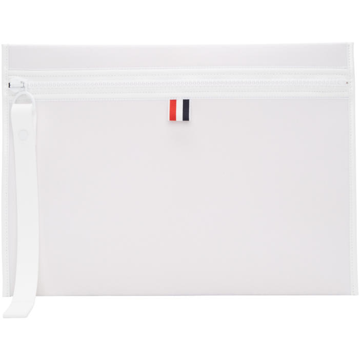 Photo: Thom Browne Off-White Neoprene Laptop Case