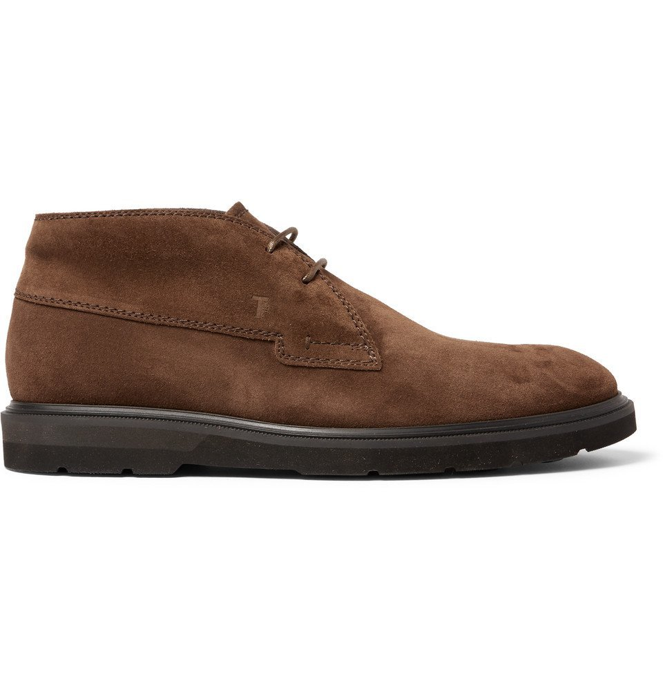 Tod's - Suede Chukka Boots - Men - Brown
