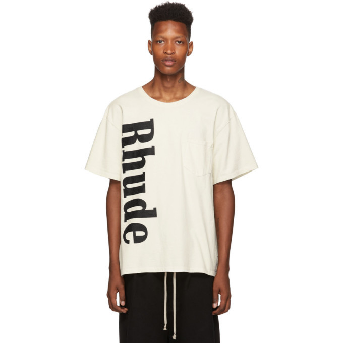 Photo: Rhude Off-White Pocket T-Shirt