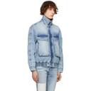 Ksubi Blue Denim Kolossus Jacket