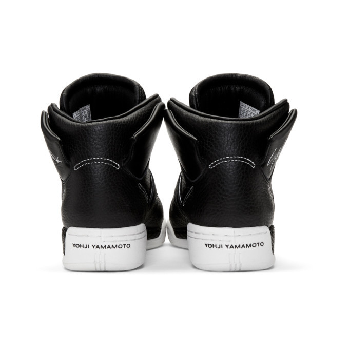 Y-3 Black and White Hayworth Sneakers