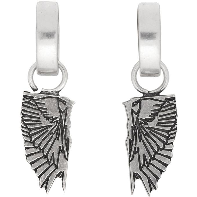 Photo: Marcelo Burlon County of Milan Silver Wings Earrings