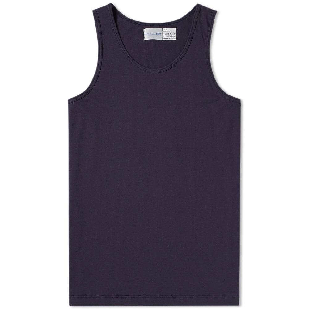 Photo: Comme des Garcons SHIRT x Sunspel Vest