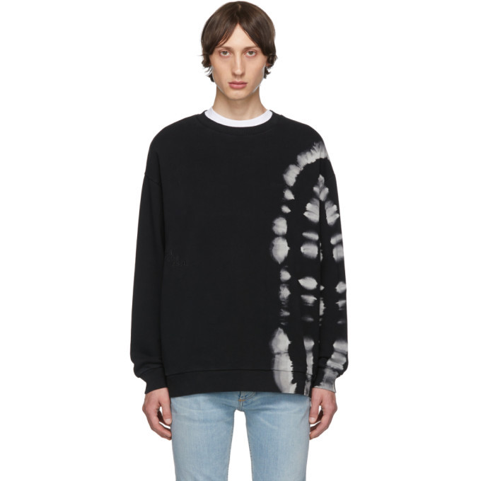 Photo: Marcelo Burlon County of Milan Black County Tie-Dye Sweatshirt