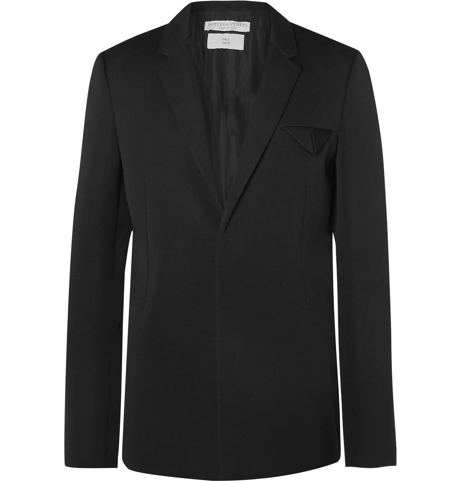 Photo: Bottega Veneta - Black Wool Blazer - Black