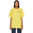Raf Simons Yellow Drugs Regular Fit T-Shirt