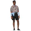 3.1 Phillip Lim Black Pleated Walking Shorts
