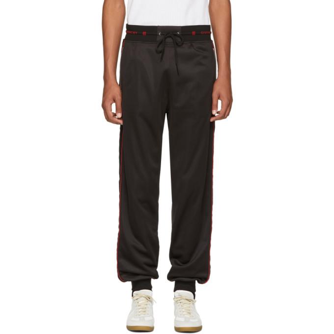 Photo: Givenchy Black Side Band Jogging Lounge Pants
