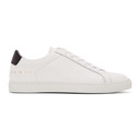 Common Projects White and Black Retro Low Sneakers
