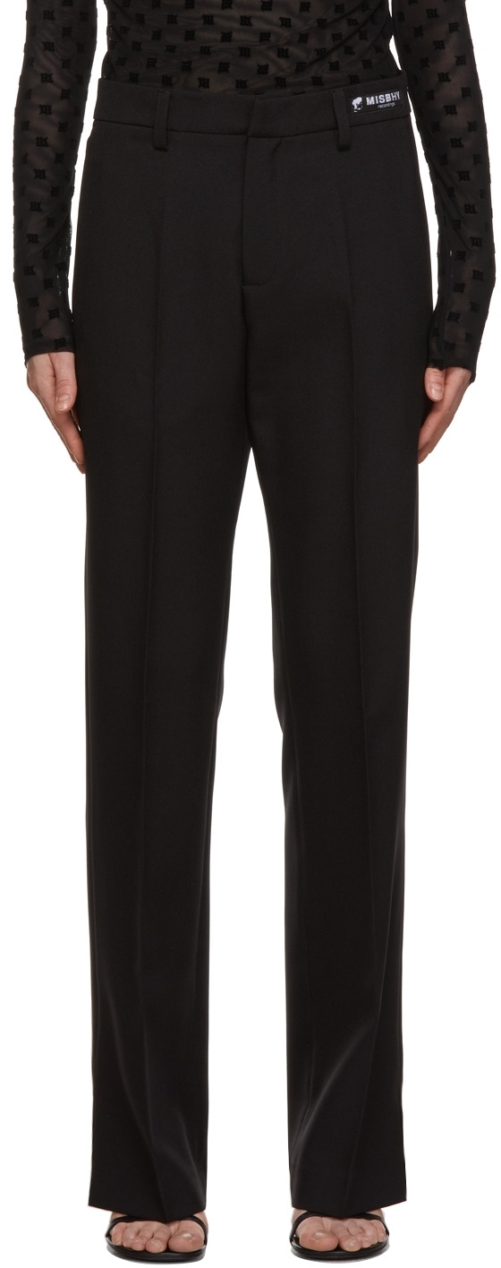 Photo: MISBHV Black Relaxed Tailored Trousers