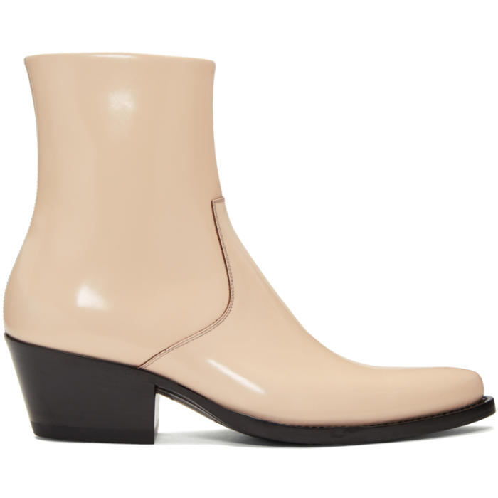 Photo: Calvin Klein 205W39NYC Pink Tex Boots