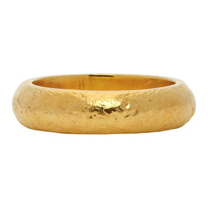 Photo: Dear Letterman Gold Ayman Ring