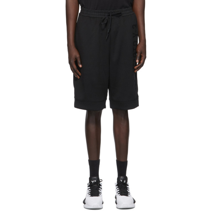 Photo: Y-3 Black Mesh CH2 GFX Shorts