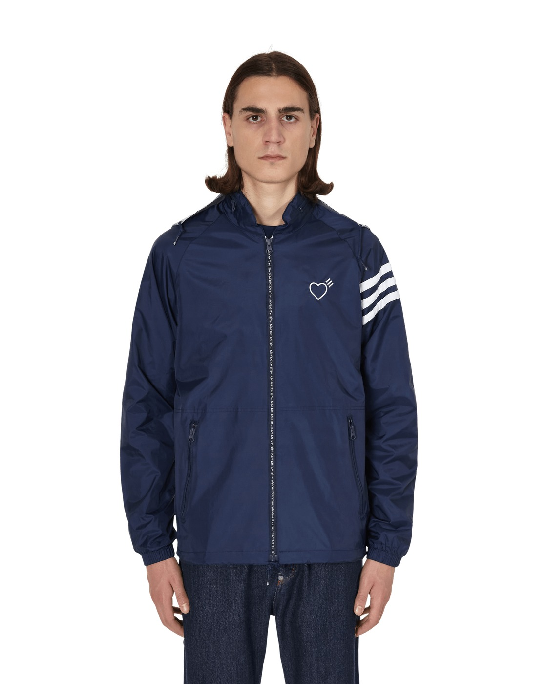 Photo: Adidas Consortium Human Made Windbreaker Collegiate Navy
