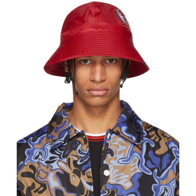 Photo: Marni Dance Bunny Red Bunny Patch Bucket Hat