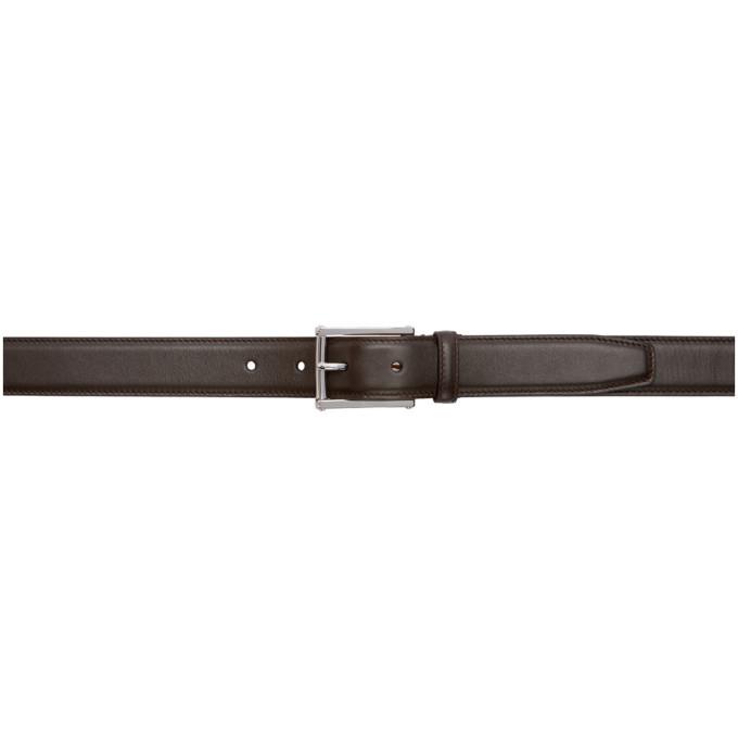 Photo: Ralph Lauren Purple Label Brown Leather Belt