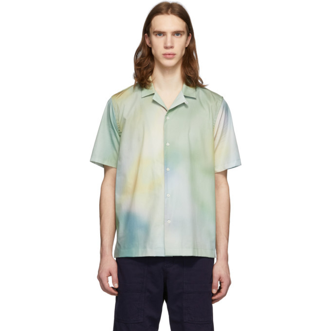 Photo: Wood Wood Green Brandon Short Sleeve Shirt