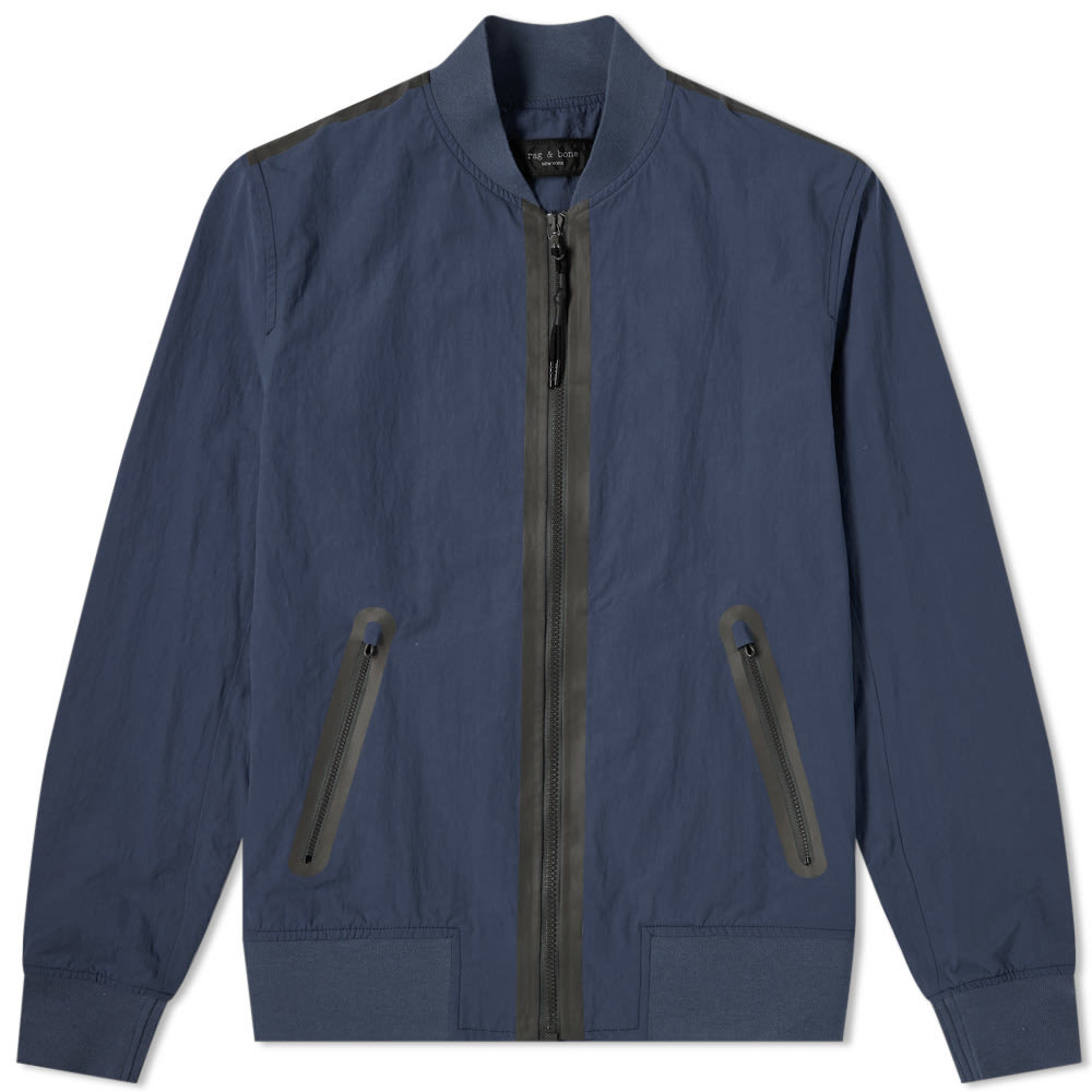 Photo: Rag & Bone Tech Bomber Jacket