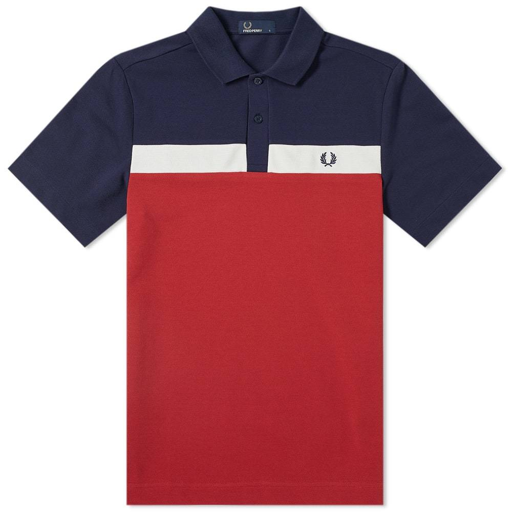 Photo: Fred Perry Contrast Panel Polo