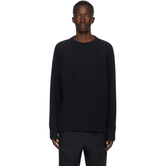 Photo: Jil Sander Navy Wool Sweater