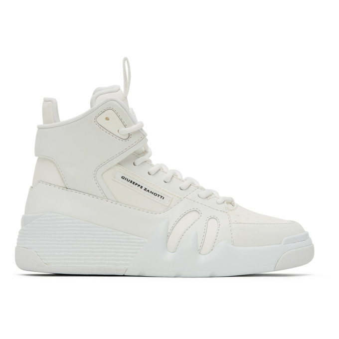Photo: Giuseppe Zanotti White Jupiter Sneakers