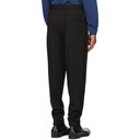Giorgio Armani Black Wool Twill Trousers