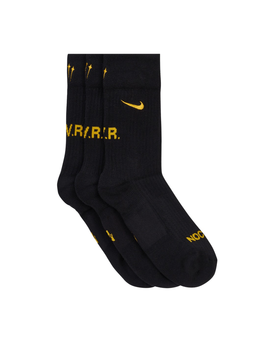 Nike Special Project Nocta Socks Black/University Gold