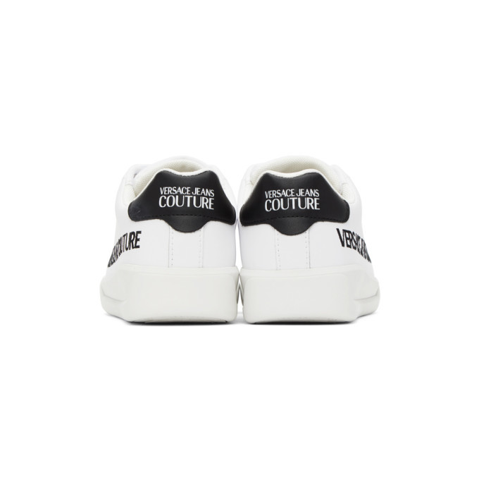 Versace Jeans Couture White Brad Sneakers